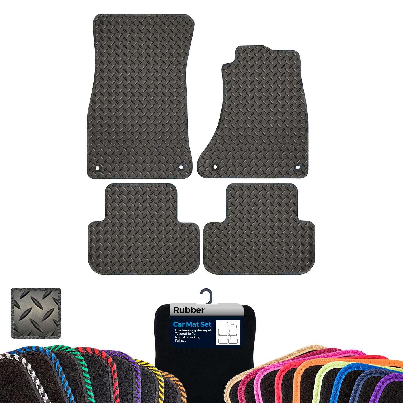 Custom Carpet Boot Mat to fit Audi A4 B8 2008-2015