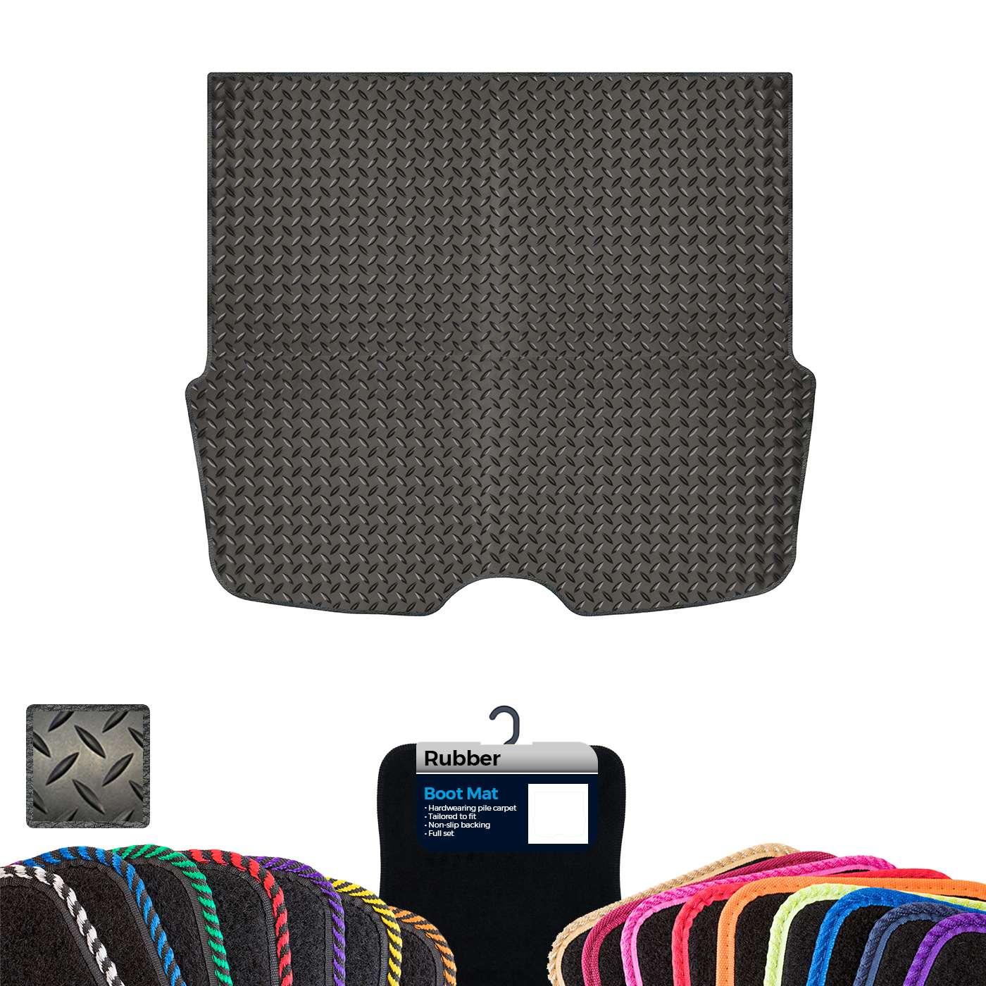 Custom Carpet Boot Mat to fit Ford Focus MK1 Estate 1998-2004