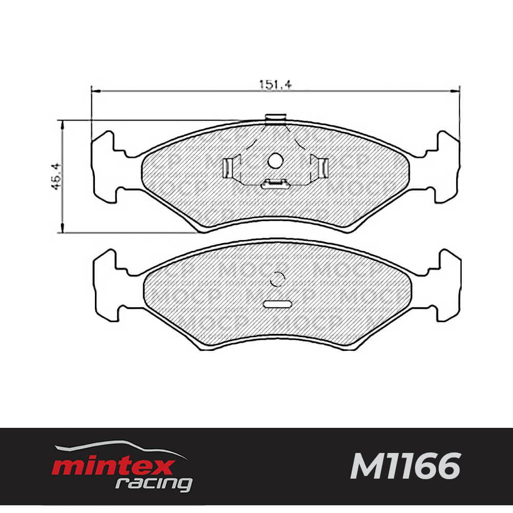 Mintex Racing MDB1175 M1166 High Performance Brake Pads