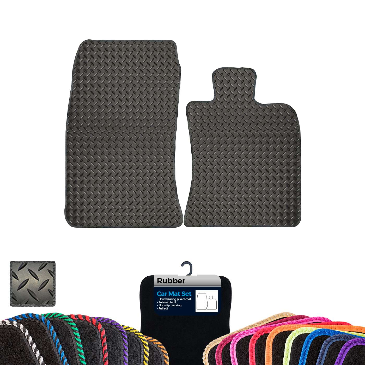 Mini R59 Roadster 2010 Present Rubber Tailored Car Mats