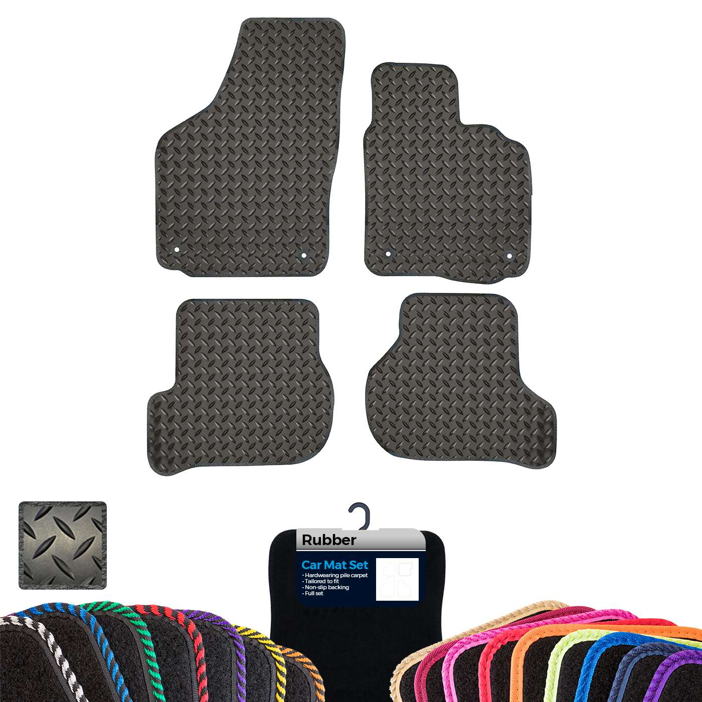 Custom Tailored Fit Car Mats Skoda Octavia 2013-present